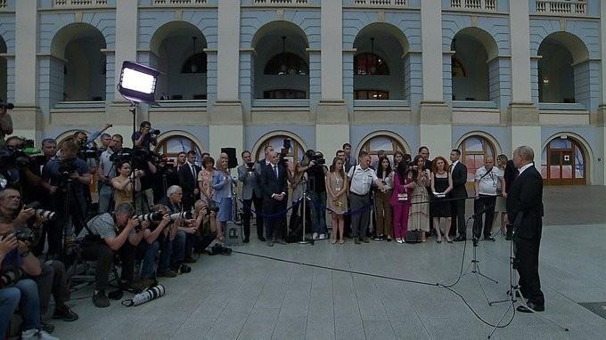 Владимир Путин ответил на вопросы журналистов по итогам «Прямой линии – 2019»