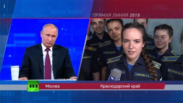 Что Путин сказал россиянам на прямой линии с глазу на глаз