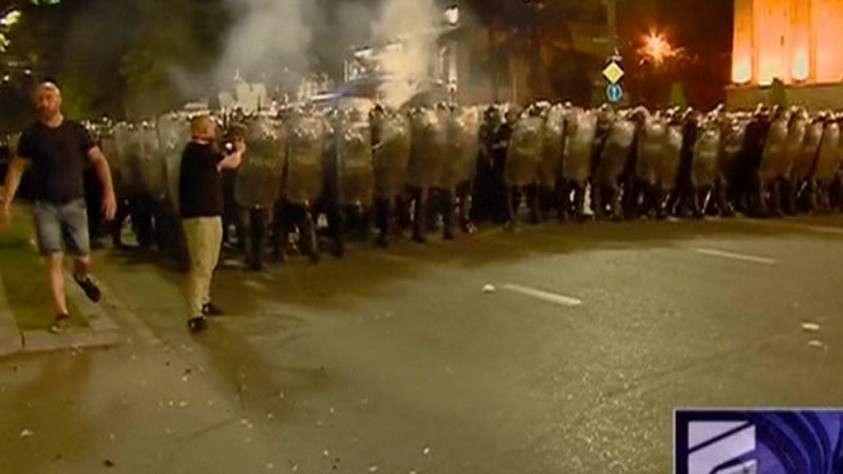Кошмарная русофобская провокация: МИД и Кремль отреагировали на события в Грузии