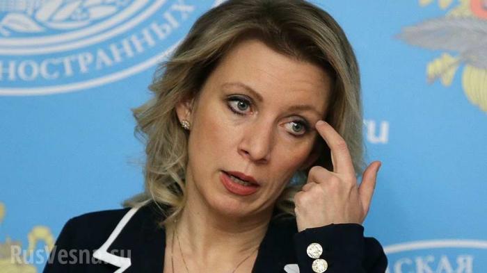 Мария Захарова резко прокомментироваларусофобский бунт вГрузии