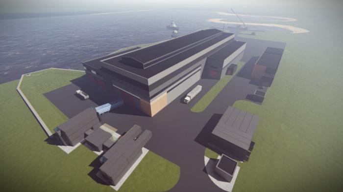 Череповецкий судостроительный завод. Началось строительство