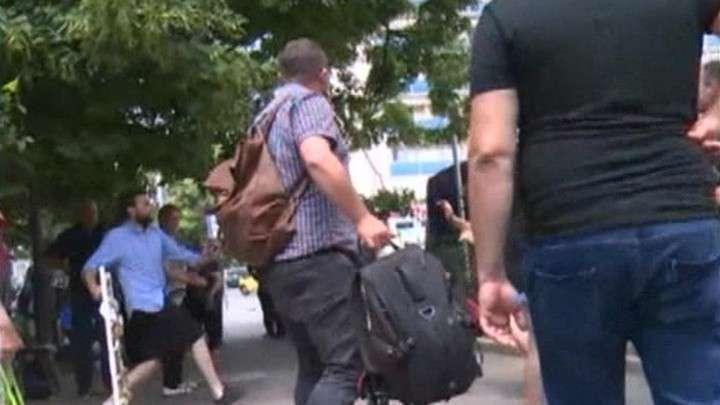 Тбилисские националисты напали на съемочную группу «России 24»