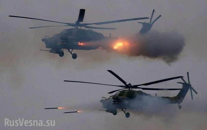Ми-28НМ. Пуск самой мощной противотанковой ракеты с вертолёта