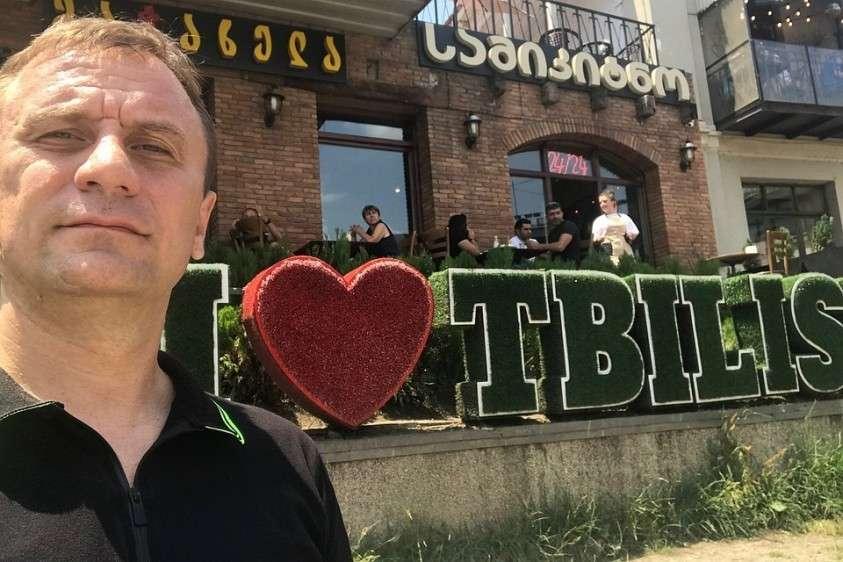 Обозреватель «КП» Владимир Ворсобин в Тбилиси