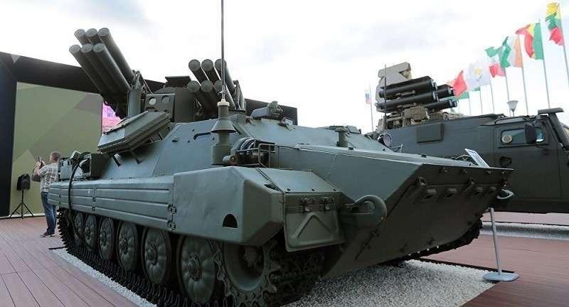Минобороны примет на вооружение новейший ЗРК