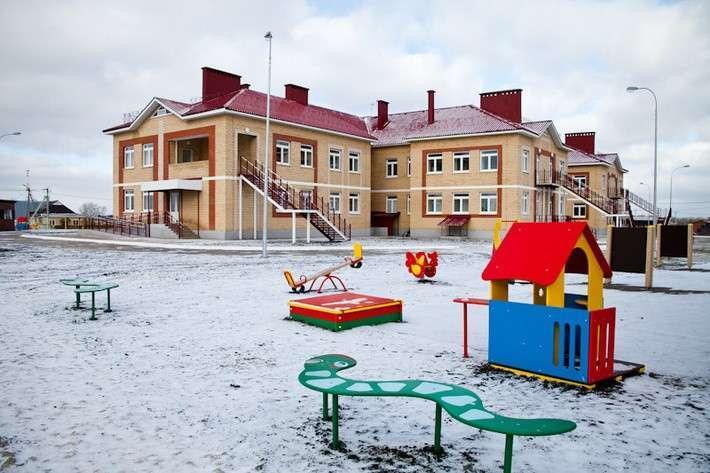 Новый сельский детский сад открыт в Оренбургской области