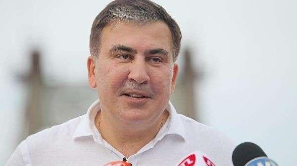 Лидер политической партии Движение новых сил Михаил Саакашвили