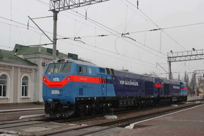 Купленные в кредит американские локомотивы не подходят для работы на Украине. Це Зрада!