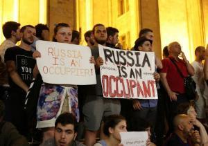 В Грузинских кафе повысили цены для россиян