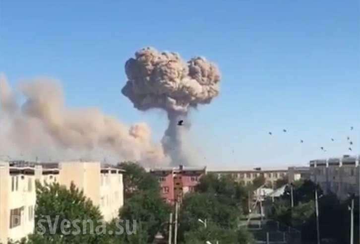 Взрывы на военных складах в Казахстане – число погибших и пострадавших увеличилось (ФОТО, ВИДЕО)