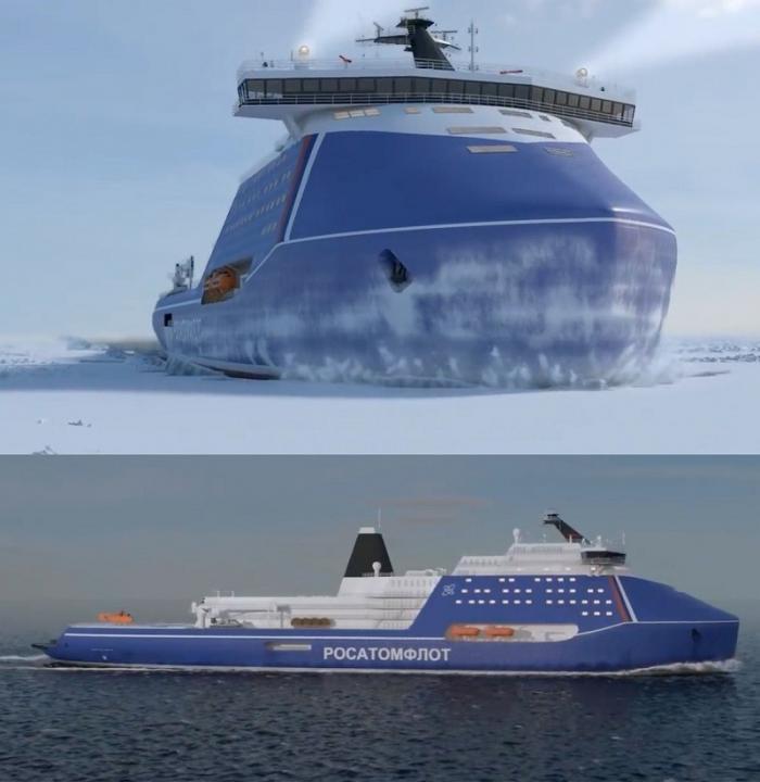 Новейшие ледоколы решат вековую проблему российского ВМФ