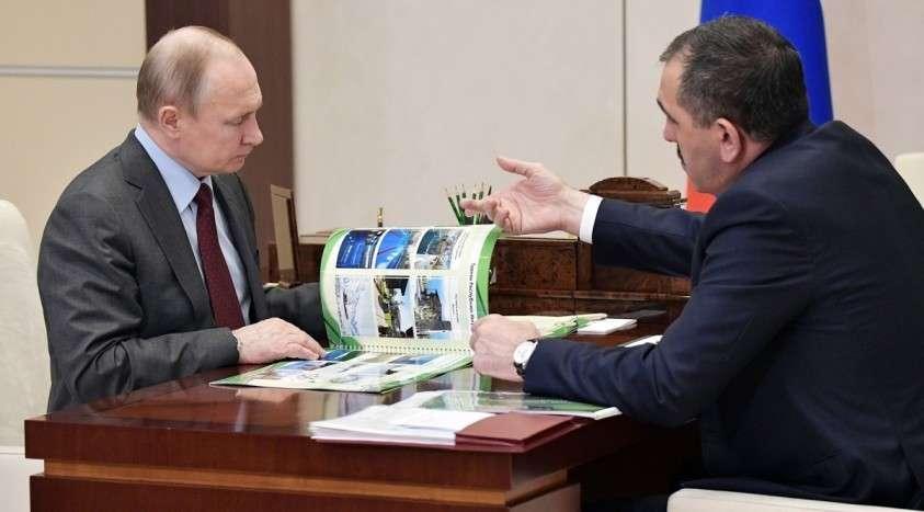 Глава Ингушетии объявил об уходе в отставку