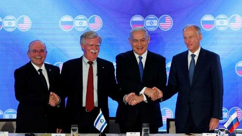 Николай Николай Патрушев подвёл итоги переговоров с представителями США и Израиля