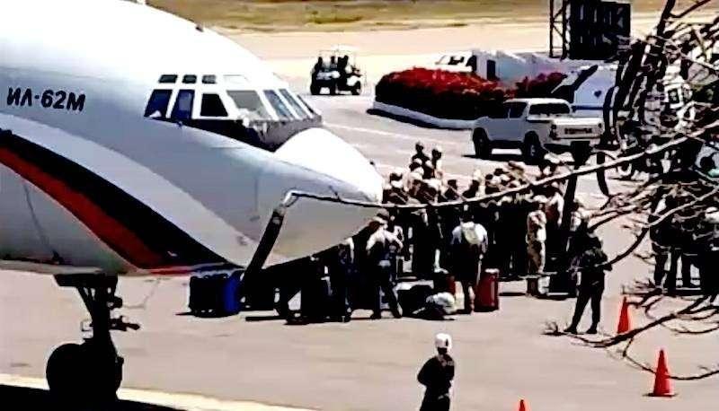 Западные СМИ встревожены приземлением вчера в Каракасе Ил-62 ВКС РФ