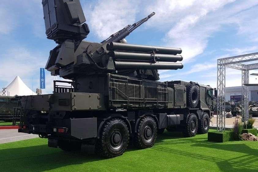 Новейший ПВО комплекс «Панцирь-СМ» на автомобиле «Торнадо» впервые показали на «Армии-2019»
