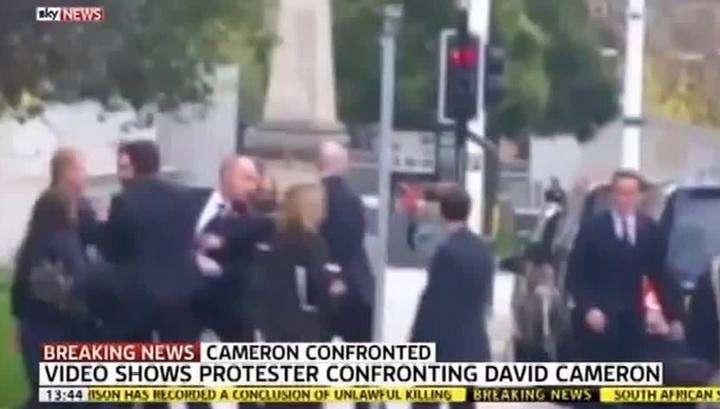Нападение в Лидсе: премьер Великобритании отделался лёгким испугом