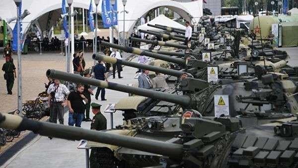 Военная техника на Международном военно-техническом форуме Армия-2019