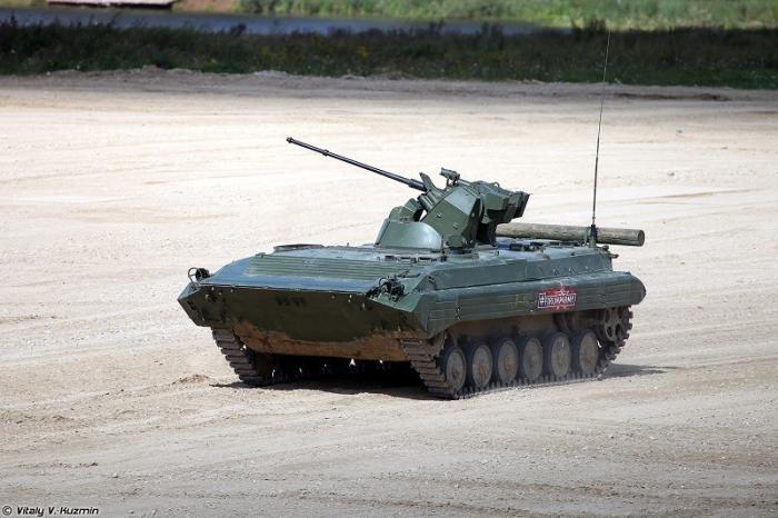 БМП-3 с новейшим модулем «Эпоха» проходит испытания в Минобороны