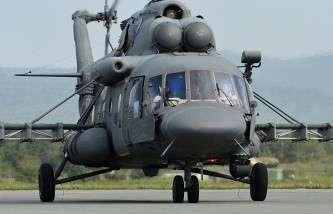 Вертолет Ми-8 АМТШ. Архив