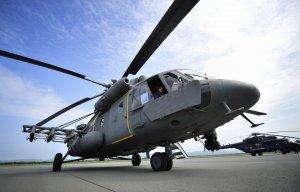 Новосибирская авиабаза ЦВО в 2014 году полностью обновила парк вертолетов