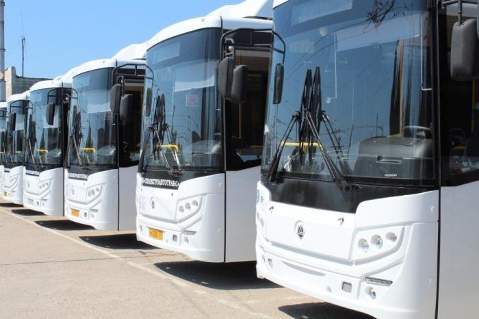 Севастополь. 20 новых автобусов вышли намаршруты пассажирских перевозок