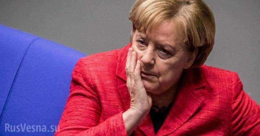 Меркель снова стало плохо на публике (ВИДЕО)