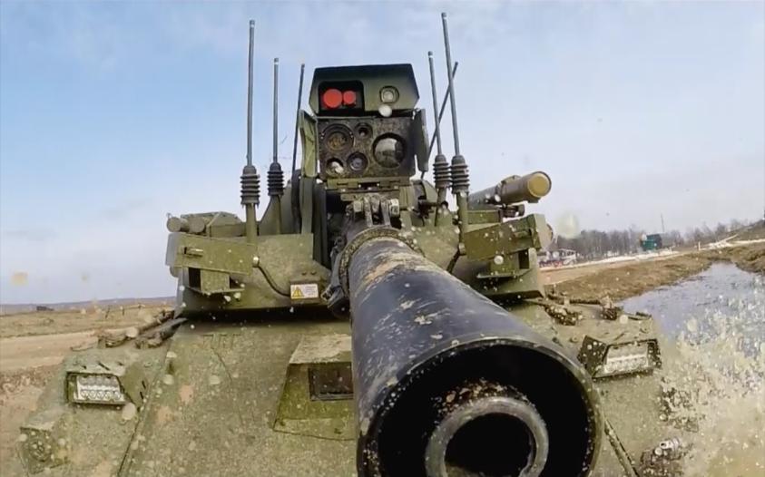 Российские боевые роботы хорошо пошли на экспорт