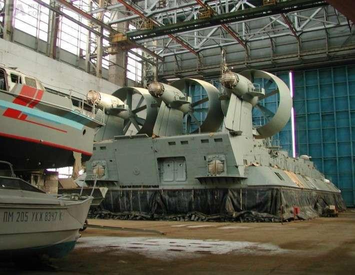 Судостроительный завод «Море» вФеодосии получил российскую регистрацию