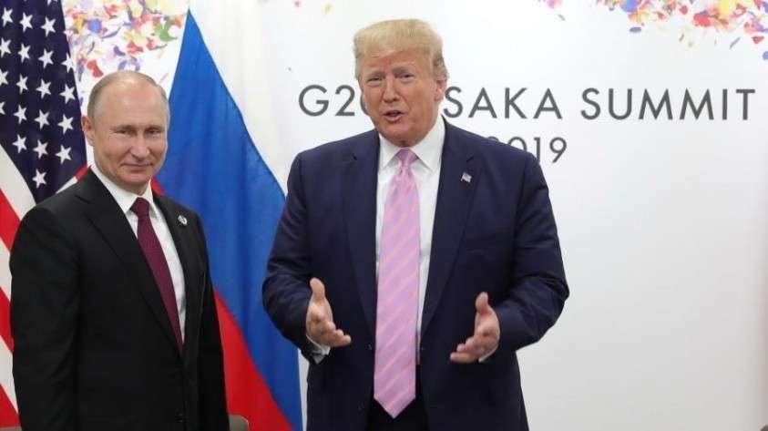 Встреча Путина и Трампа завершилась в Осаке