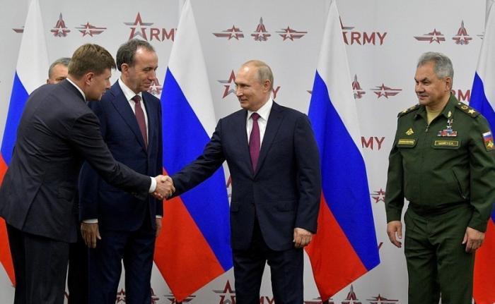 На форуме «Армия-2019» подписаны государственные контракты на сумму более 1 триллиона рублей