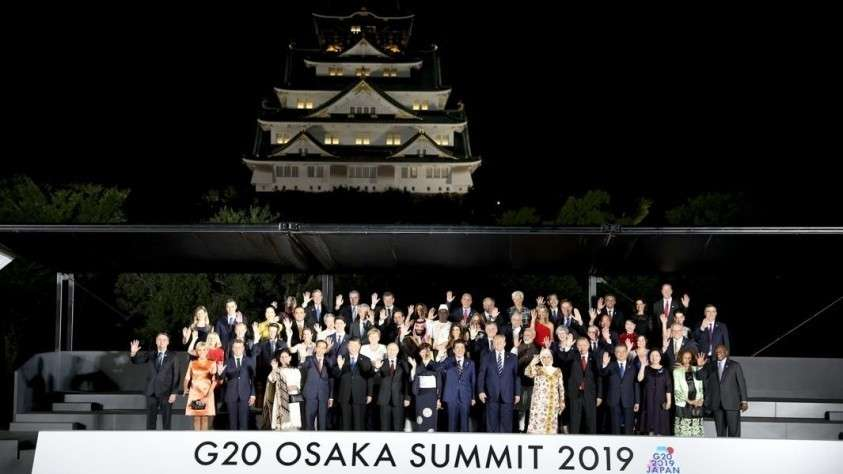 Участники саммита G 20