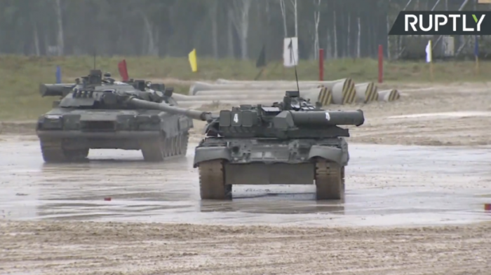 Военное шоу «Вежливые люди» прошло в рамках форума «Армия-2019»