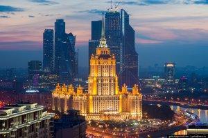Москва свысоты. Фоторепортаж 2014