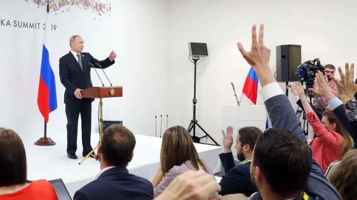 Владимир Путин рассказал о ежедневных вмешательствах «партнёров» в дела России