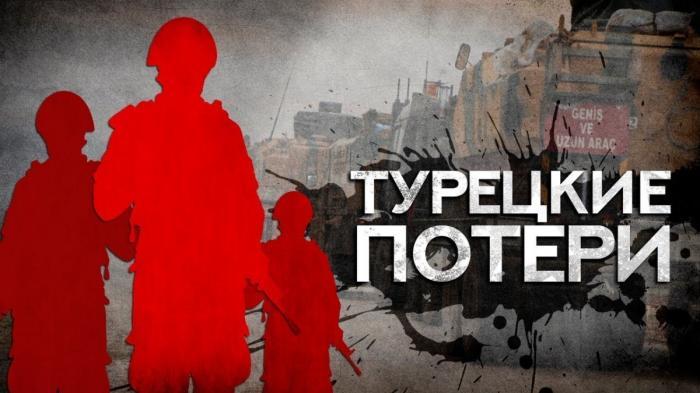 Сирия: боевики Турции несут серьёзные потери в Идлибе