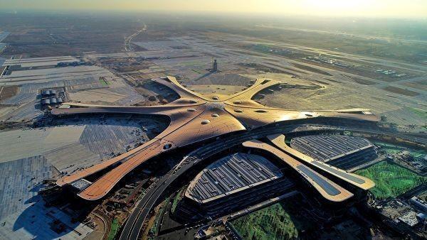 В Пекине построили самый большой в мире аэропорт Дасин