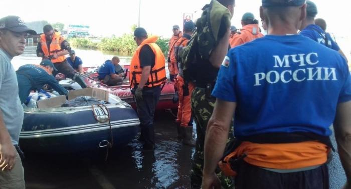 Наводнение в Иркутской области. Пострадавшим приходит экстренная помощь