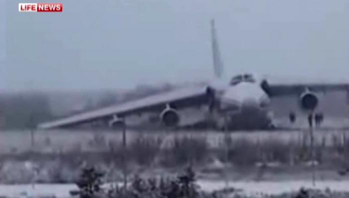 «Руслан», экстренно севший в Ульяновске, перевозил спутник на Байконур