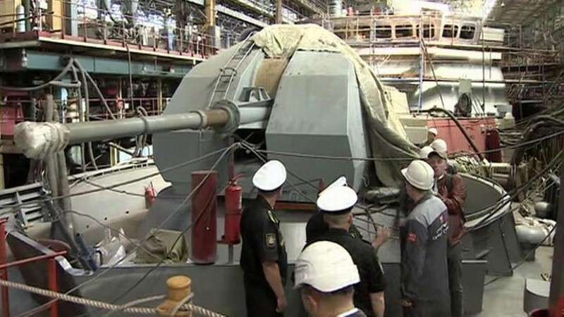 В Комсомольске-на-Амуре заложили сразу два новых ракетных корабля