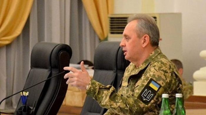 Начальник генштаба Украины Муженко признался в военных преступлениях еврейской хунты