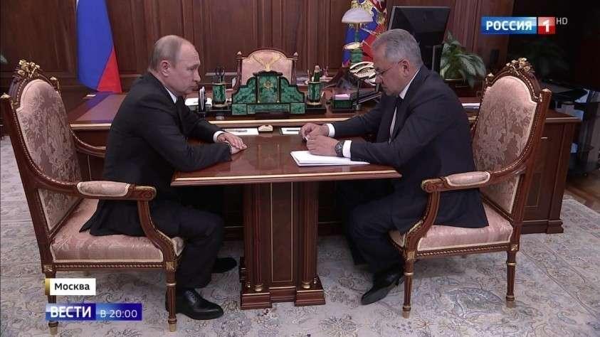 Сергей Шойгу доложил президенту об обстоятельствах гибели 14 моряков на Северном флоте