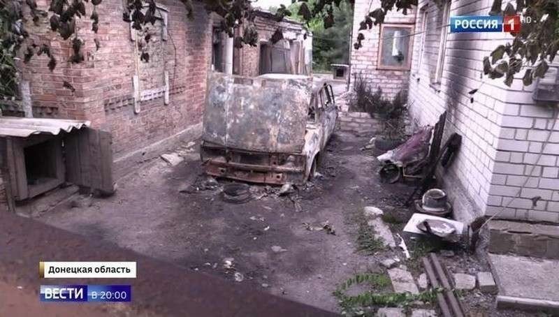 Под Донецком украинские каратели обстреляли журналистов ВГТРК