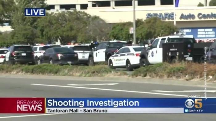 Стрельба в Калифорнии: в торговом центре было ранено 2 человека