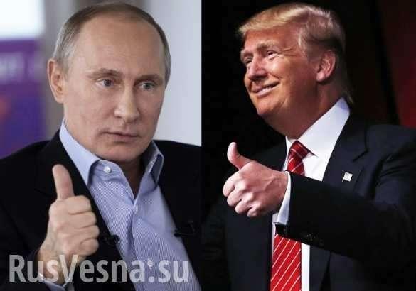 США копируют Россию, а Трамп – Путина | Русская весна