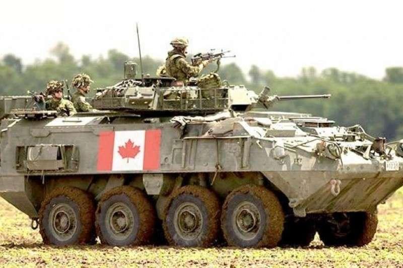 Канада будет поставлять Украине бронетехнику НАТО
