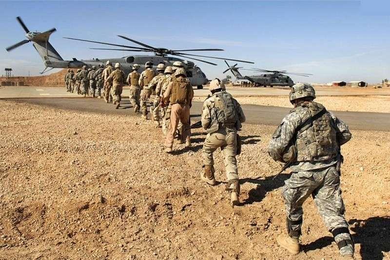 США начали экстренную эвакуацию своих военнослужащих из Ирака