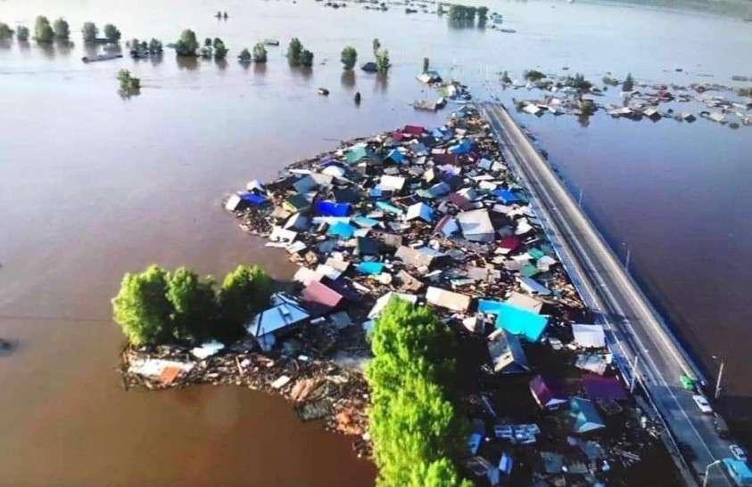 Кто затопил 30 населенных пунктов Иркутской области