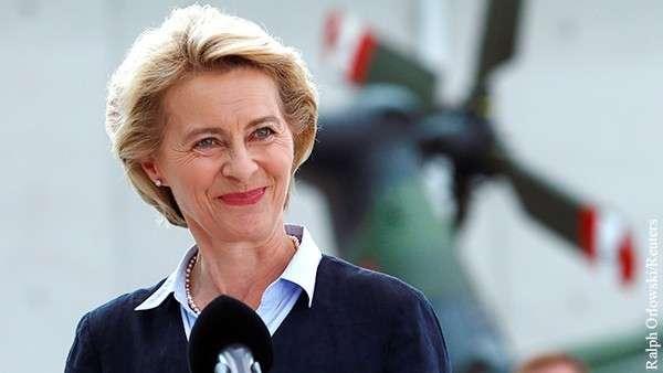 Урсула фон дер Ляйен – евросоюзу потребовалось военное руководство