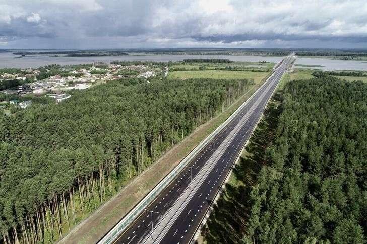 Состоялось открытие второго участка трассы М-11 от Клина до Твери