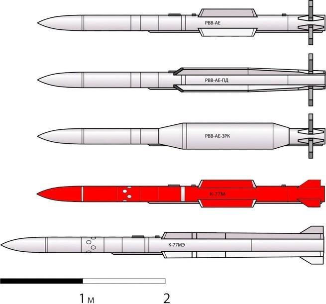 Россия создала для Су-57 уникальную ракету «воздух-воздух». Подробности об «Изделии 180» К-77М